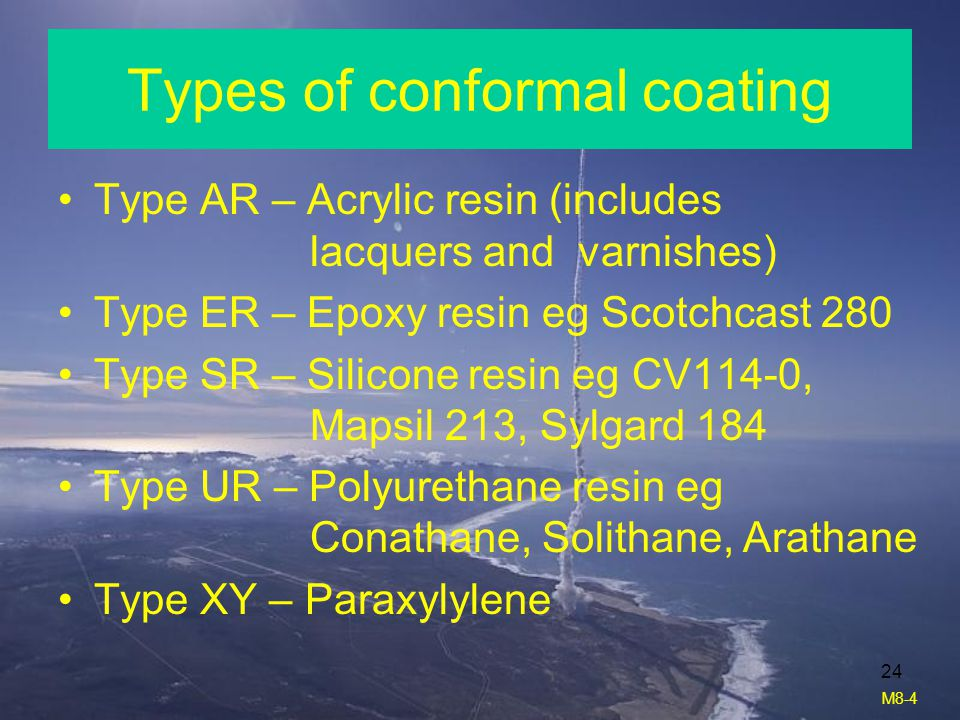 Types of conformal coating