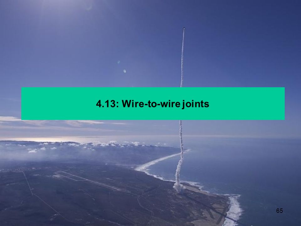 4.13: Wire-to-wire joints