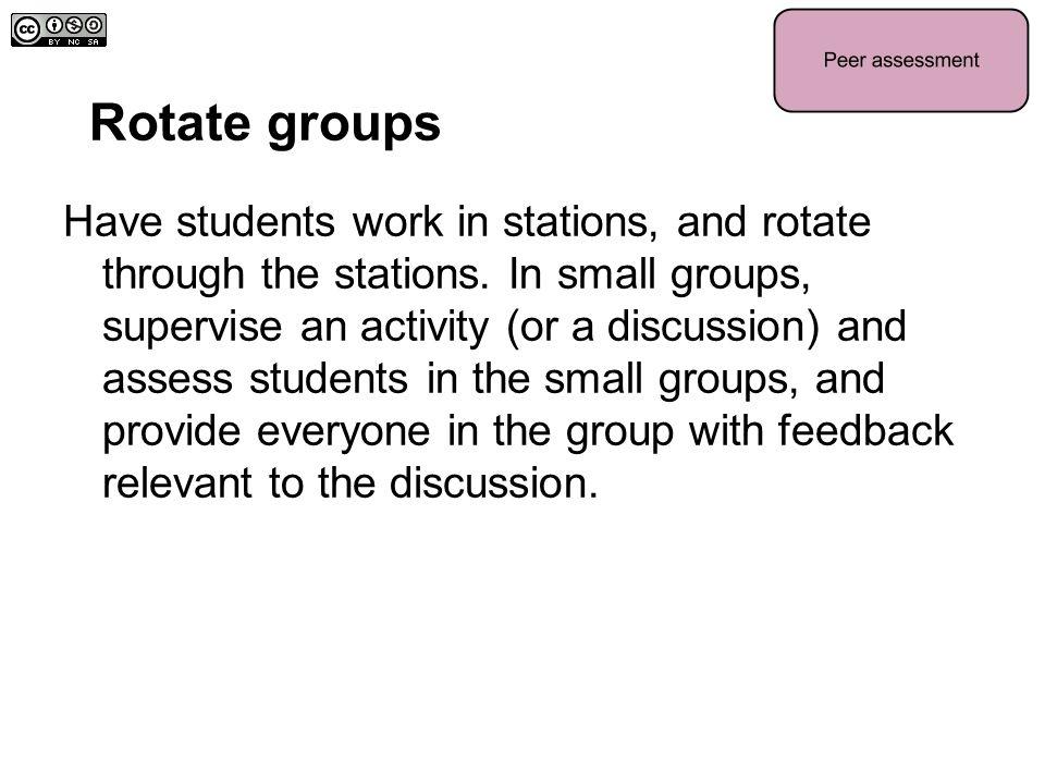 Rotate groups