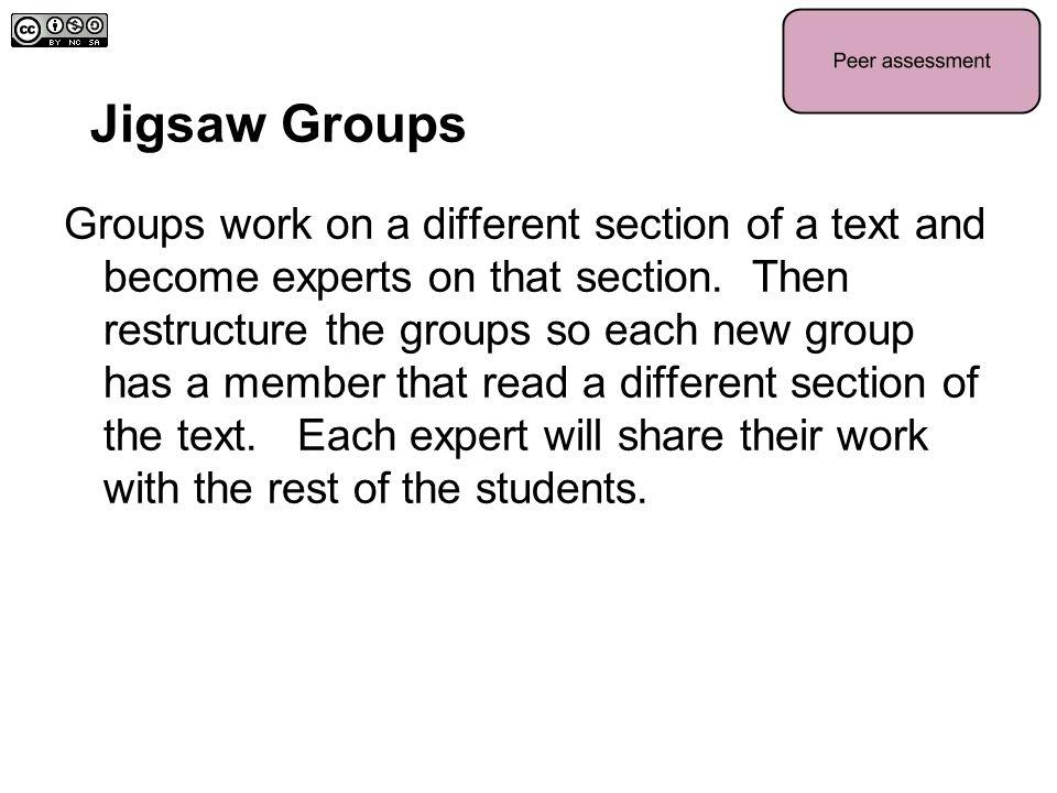 Jigsaw Groups