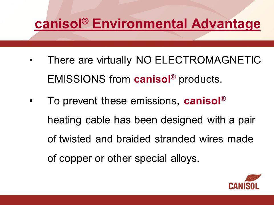canisol® Environmental Advantage