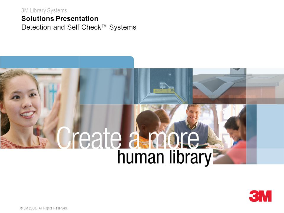 Solutions Presentation Detection and Self Check™ Systems