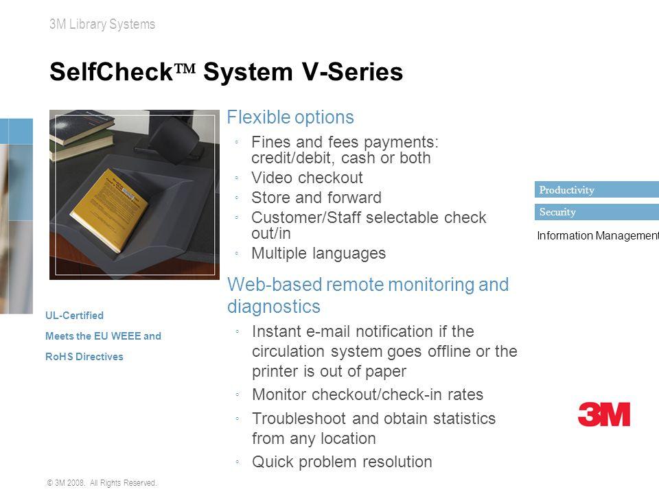 SelfCheck System V-Series