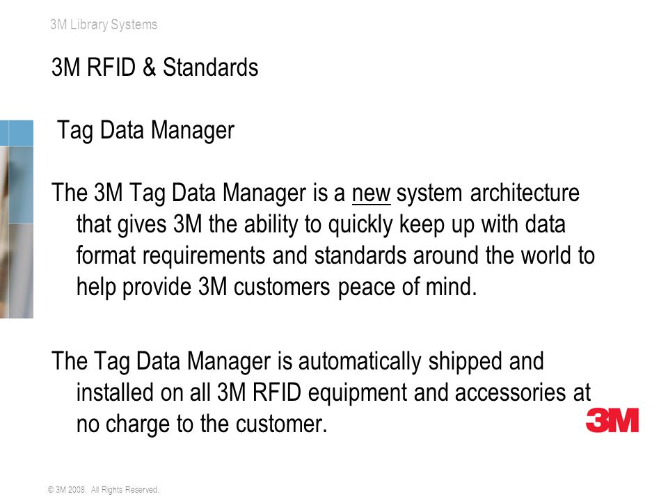 3M RFID & Standards Tag Data Manager