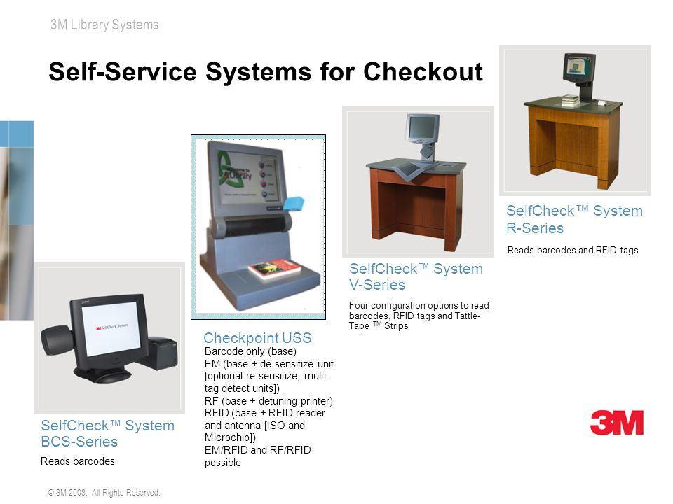Self-Service Systems for Checkout