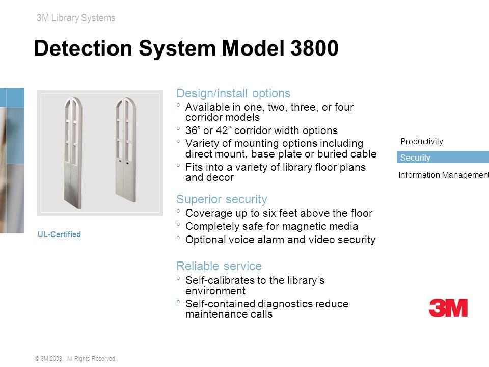 Detection System Model 3800