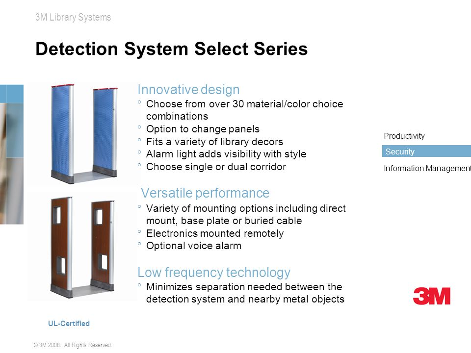 Detection System Select Series