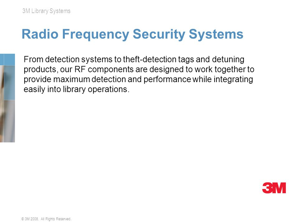 Radio Frequency Security Systems