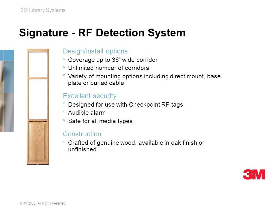 Signature - RF Detection System