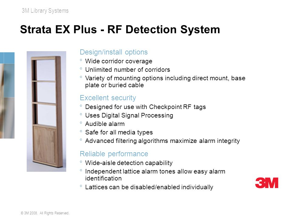 Strata EX Plus - RF Detection System