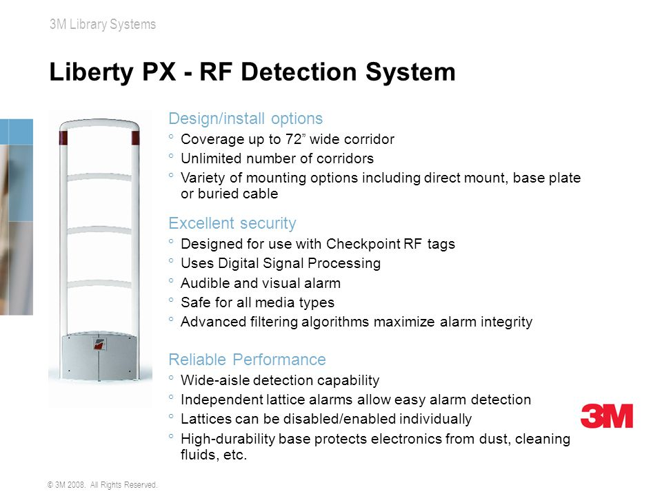 Liberty PX - RF Detection System