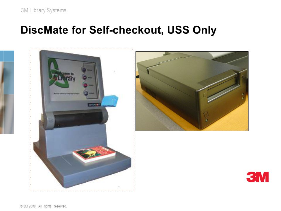 DiscMate for Self-checkout, USS Only