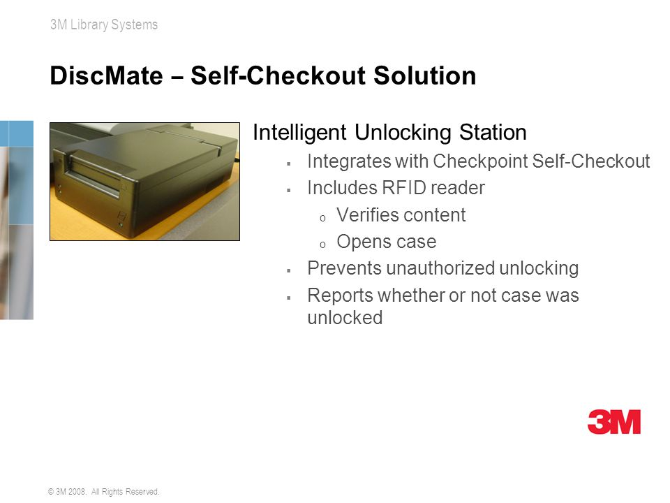 DiscMate – Self-Checkout Solution