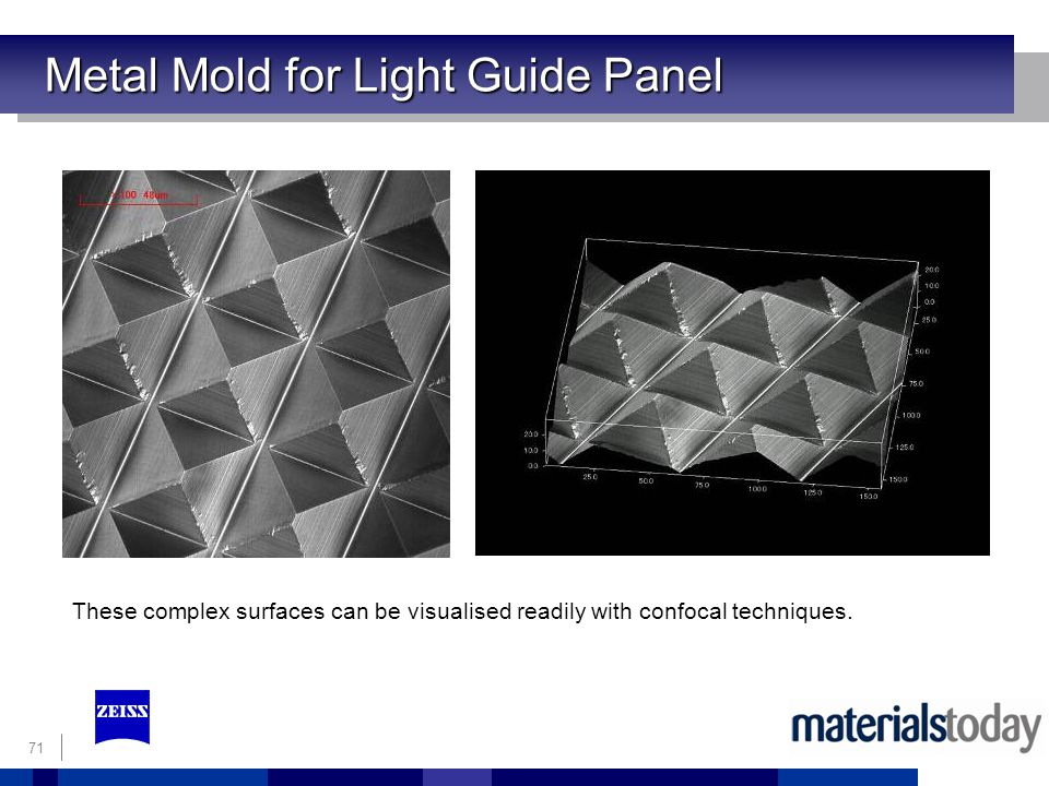 Metal Mold for Light Guide Panel