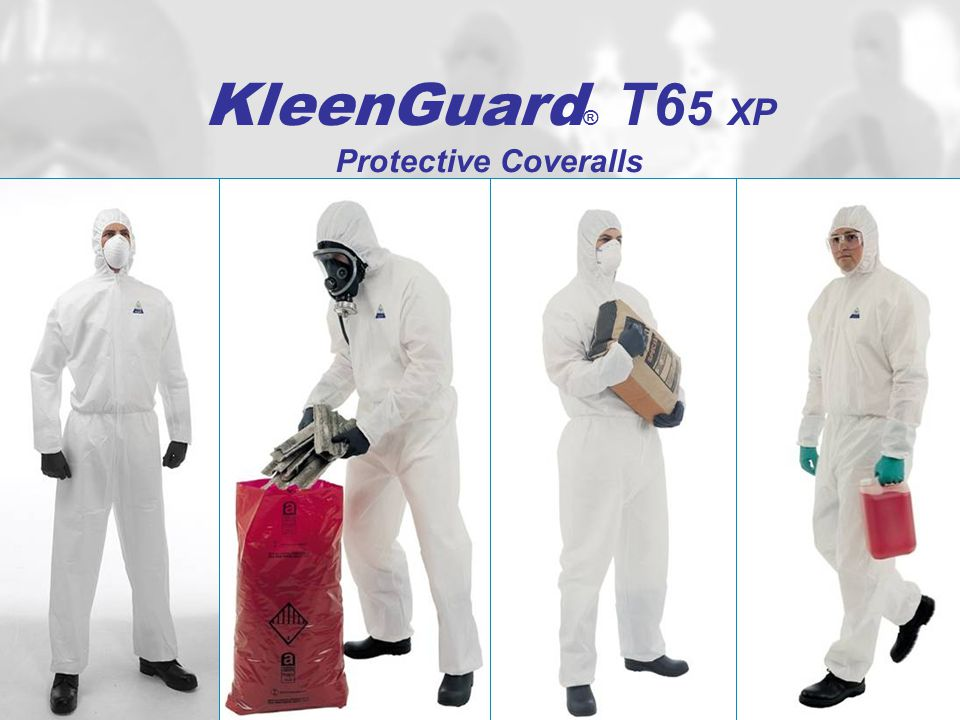 KleenGuard® T65 XP Protective Coveralls