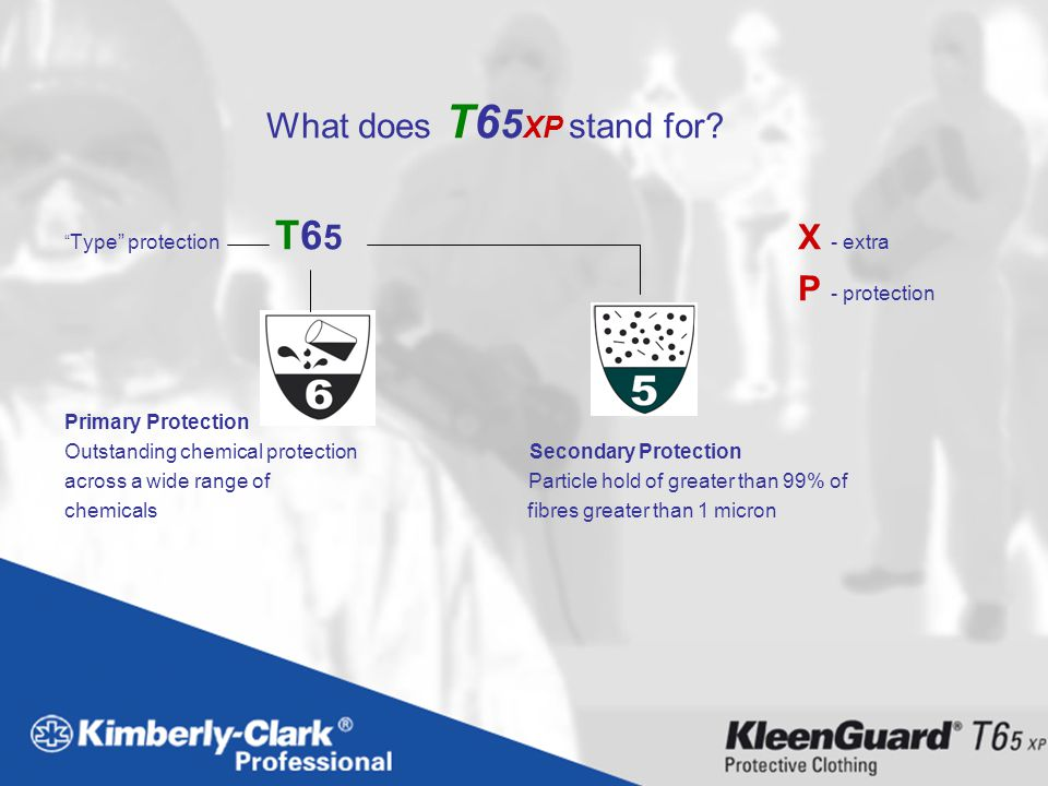 What does T65XP stand for P - protection Primary Protection