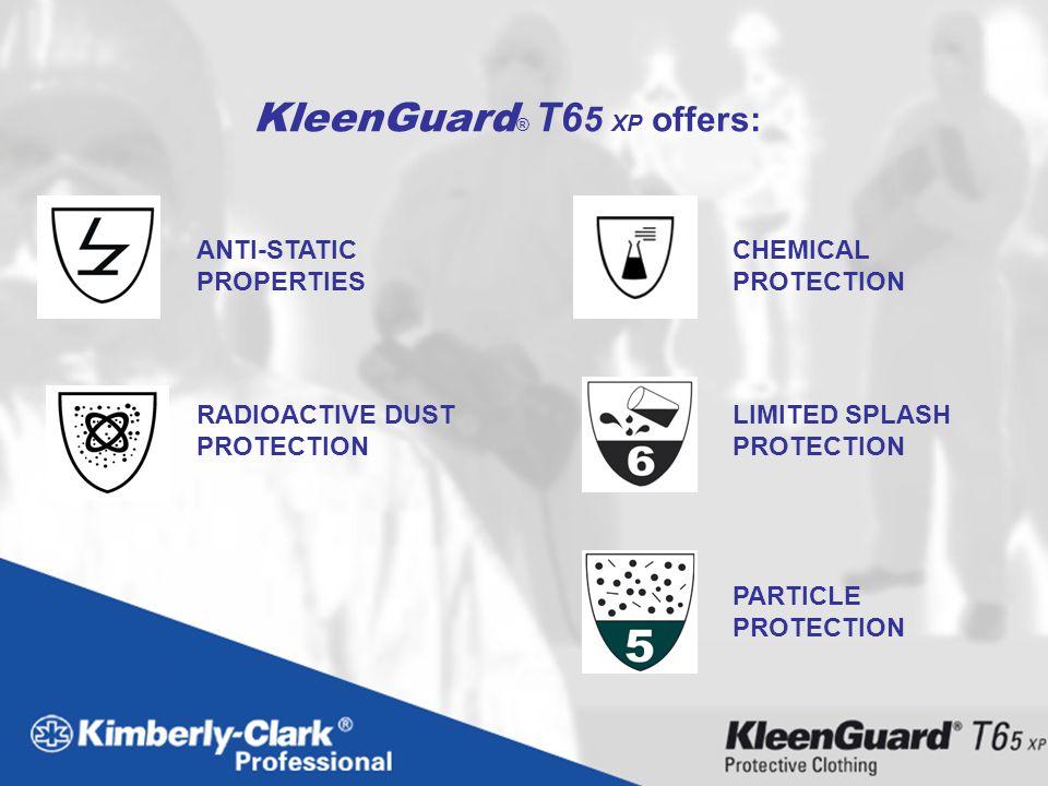 KleenGuard® T65 XP offers: