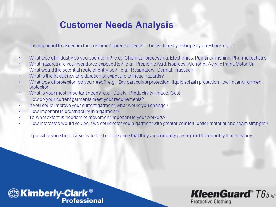 Customer Needs Analysis