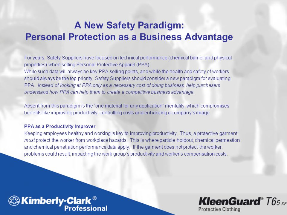 A New Safety Paradigm: Personal Protection as a Business Advantage