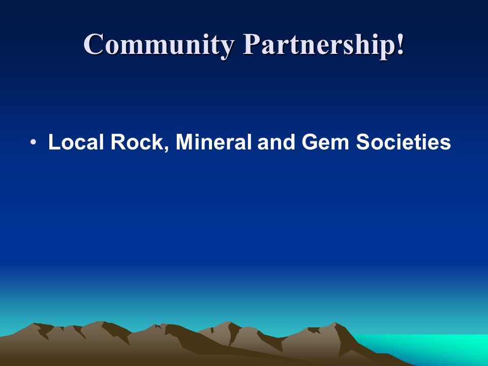 Community Partnership!