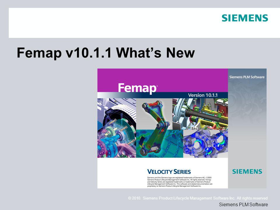 Femap v10.1.1 What's New
