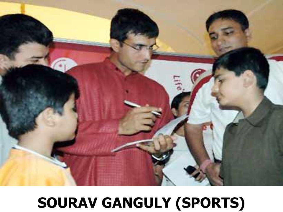 SOURAV GANGULY (SPORTS)