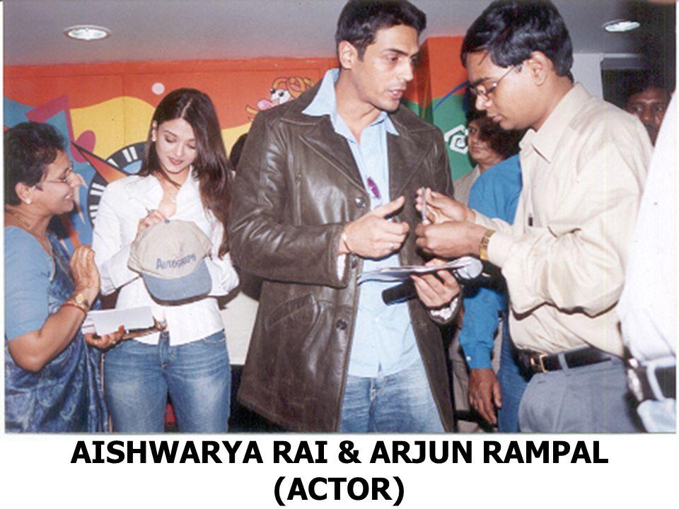 AISHWARYA RAI & ARJUN RAMPAL (ACTOR)