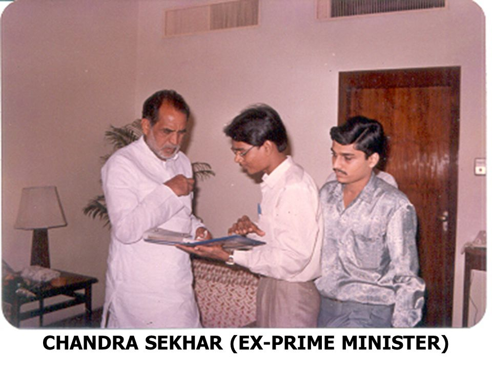 CHANDRA SEKHAR (EX-PRIME MINISTER)