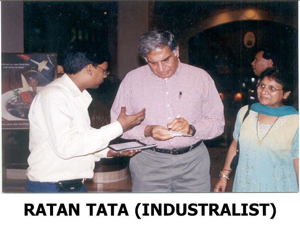 RATAN TATA (INDUSTRALIST)