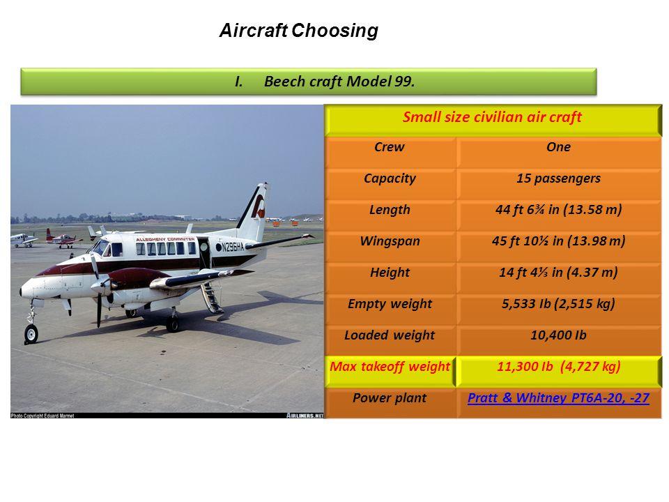 Small size civilian air craft