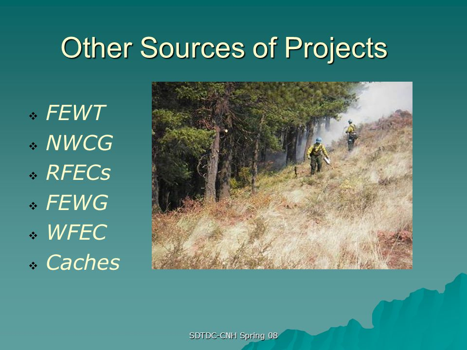 Other Sources of Projects