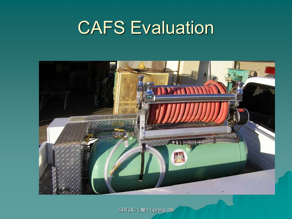 CAFS Evaluation SDTDC-CNH Spring 08