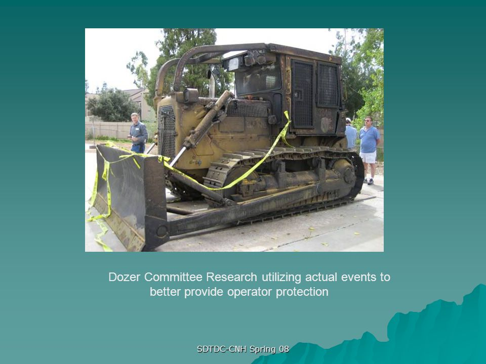 Dozer Committee Research utilizing actual events to better provide operator protection