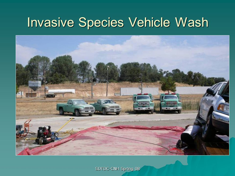 Invasive Species Vehicle Wash