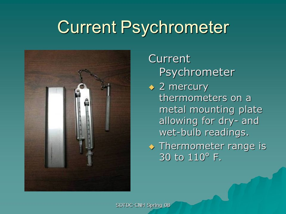 Current Psychrometer Current Psychrometer