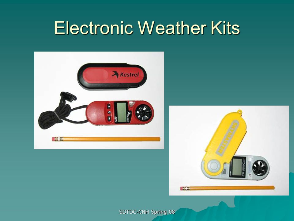 Electronic Weather Kits
