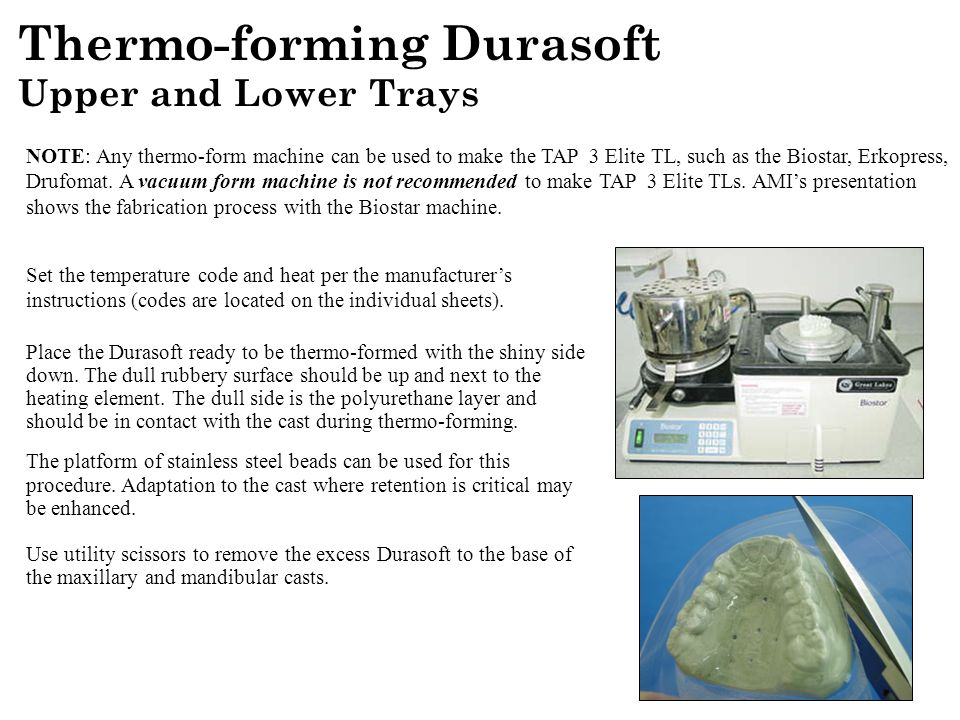 Thermo-forming Durasoft