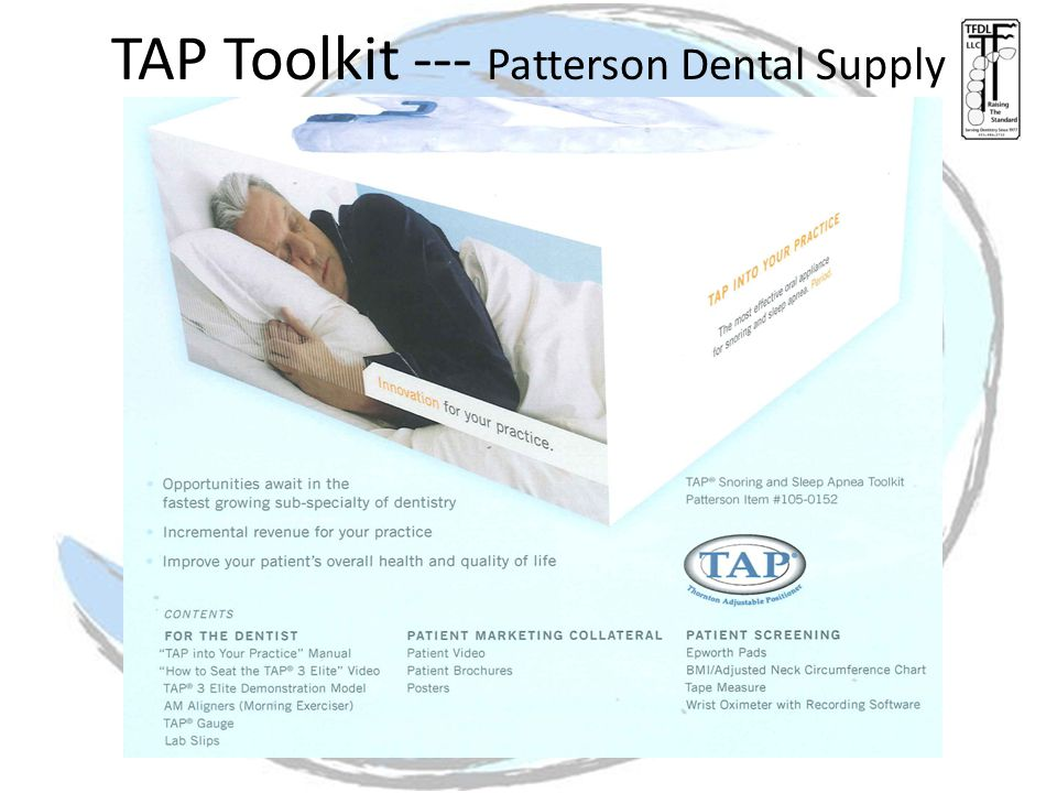 TAP Toolkit --- Patterson Dental Supply
