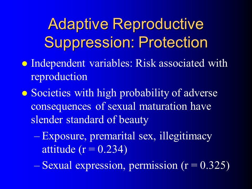 Adaptive Reproductive Suppression: Protection
