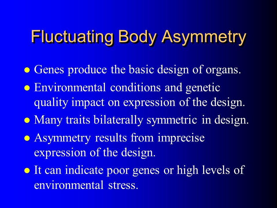 Fluctuating Body Asymmetry