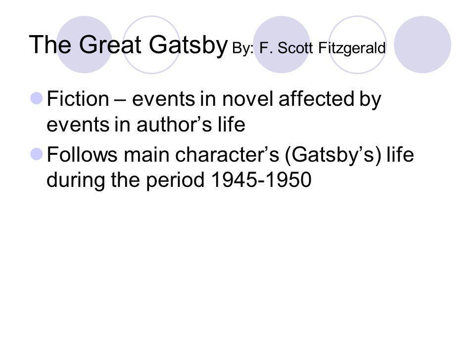 The Great Gatsby By: F. Scott Fitzgerald
