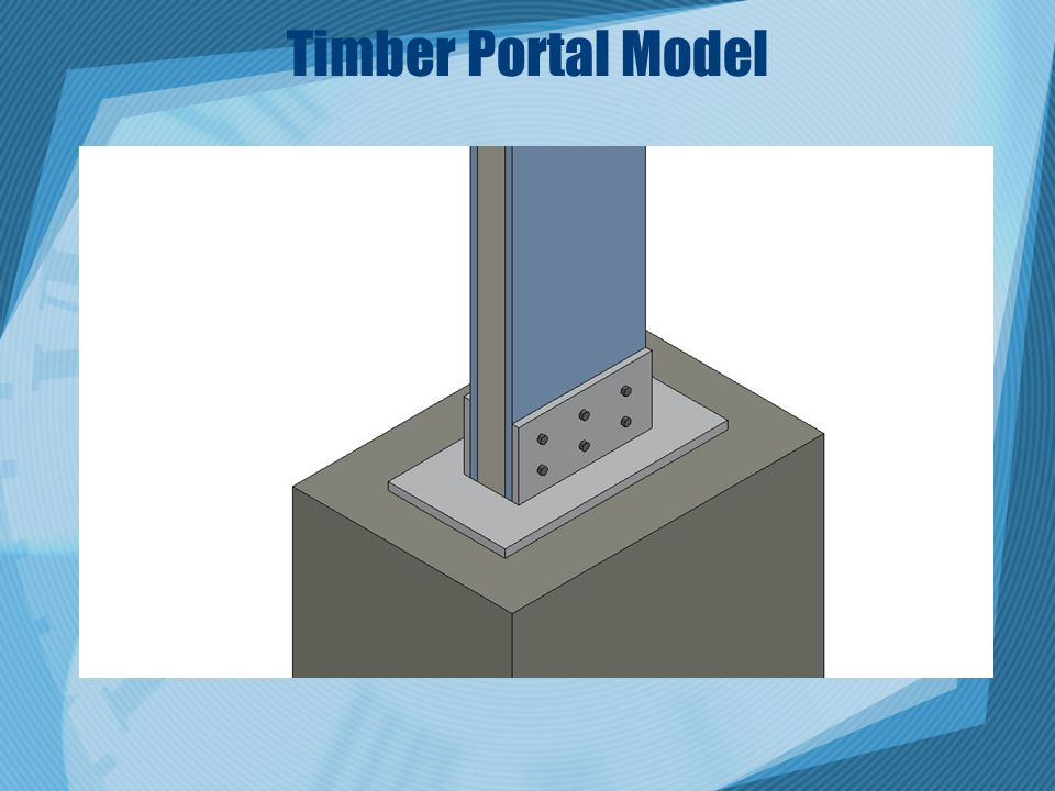 Timber Portal Model