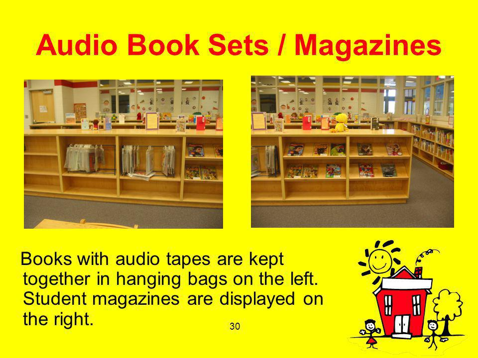 Audio Book Sets / Magazines