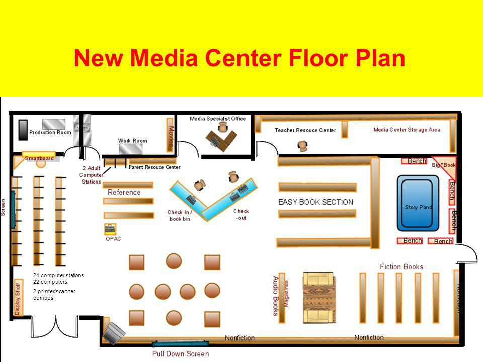 New Media Center Floor Plan