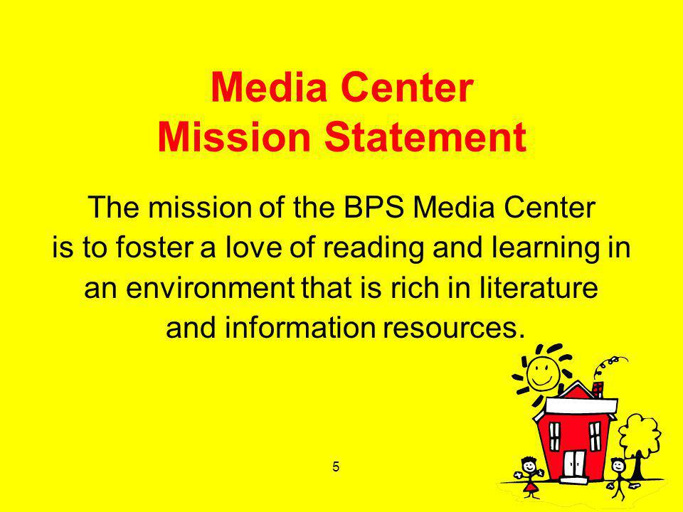 Media Center Mission Statement
