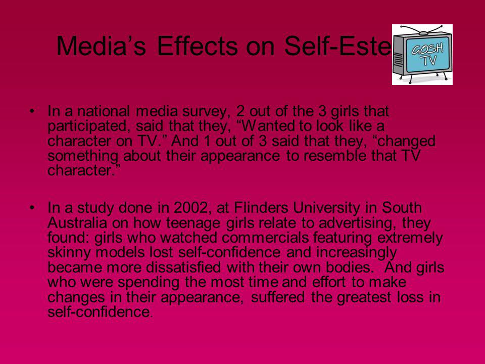 Media's Effects on Self-Esteem