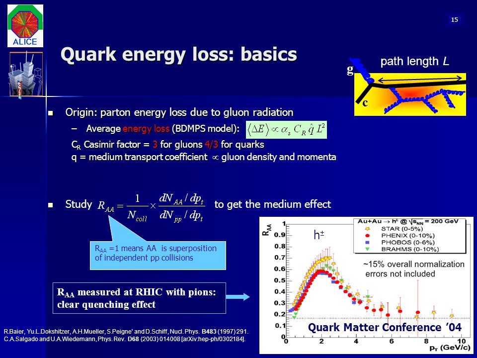 Quark energy loss: basics
