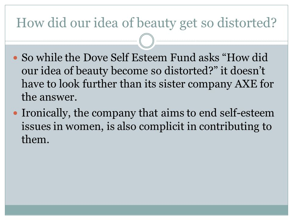 How did our idea of beauty get so distorted