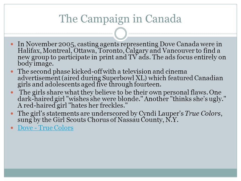 The Campaign in Canada