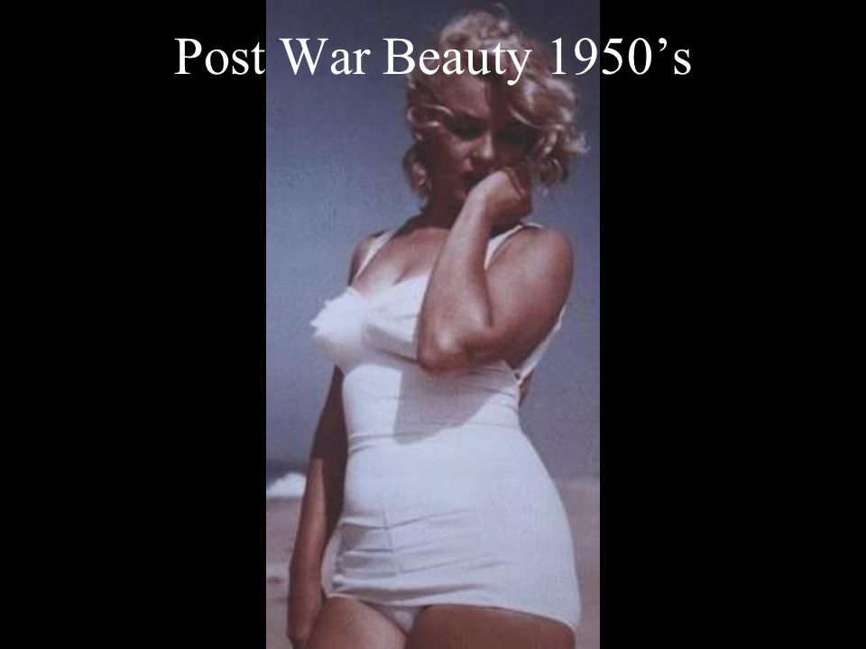 Post War Beauty 1950's